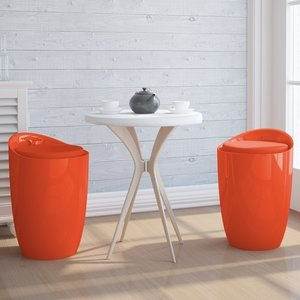Kruk, Stoel, Wasmand, SHCK05Orange - Somultishop