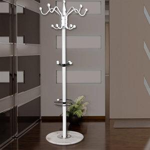 kapstok staand wit somultishop. Black Bedroom Furniture Sets. Home Design Ideas